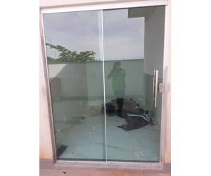 Vidro 8mm  para Portas ou janelas